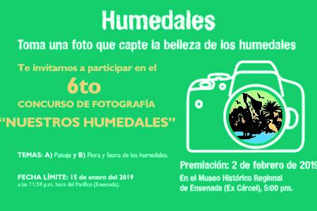"""6to Concurso de Fotografía """"Nuestros Humedales"""""""